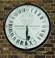 Galvano-Magnetic 24 Hour Clock, Royal Observatory, Greenwich - geograph.org.uk - 663062.jpg