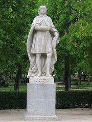 Estatua de don García en el Retiro