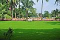 Garden at ISKCON, Mayapur 07102013.jpg