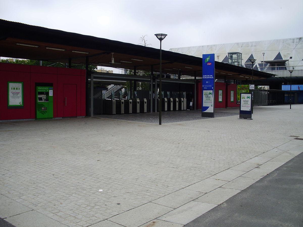 Gare du val d 39 argenteuil wikip dia - Chambre des notaires val d oise ...