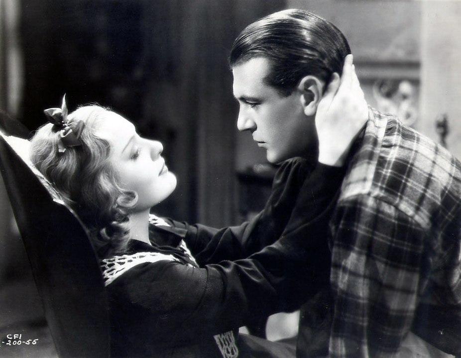 Gary Cooper and Anna Sten in The Wedding Night 1935