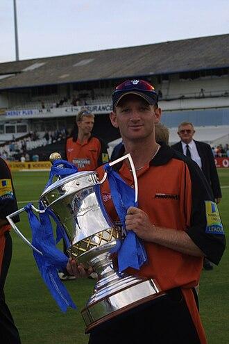 Gary Fellows - Image: Gary Fellows Cup