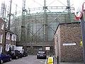 Gas Holder overlooking Montford Place - geograph.org.uk - 1193124.jpg
