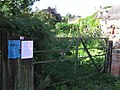 Gate at Middle Street, Ilmington - geograph.org.uk - 1468396.jpg