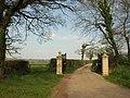Gateposts, Kelly Lane - geograph.org.uk - 2406621.jpg