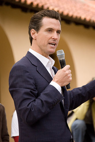 Gavin Newsom - Newsom at Stanford University in 2008