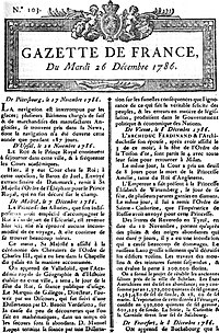 Image illustrative de l'article La Gazette (France)