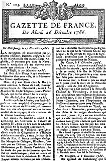 <i>La Gazette</i> (France)