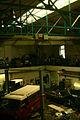 Gebäude 1108 Universität Hannover alte Schmiedehalle IFUM Blick Galerie Dach-Stahlkonstruktion 5000kg DEMAG-Hebekran II.jpg