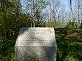 Gedenkstein,Burgstelle Wolfertschwenden,genannt Schlossberg der hochfreien Edlen welsischer Geschlechtes. 1128 Julia von W. 1170 Sitz ottenbeurischer Dienstmannen - panoramio.jpg