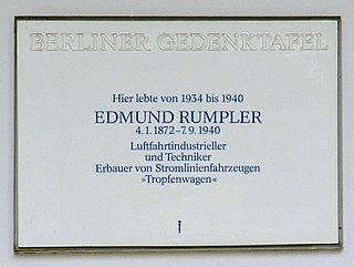 Austrian automobile and aircraft designer