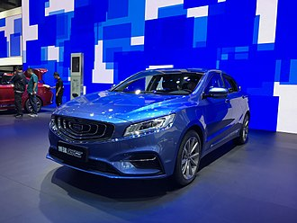 "Automotive industry in China - Geely Borui was named 2016 China ""Car of the Year"""