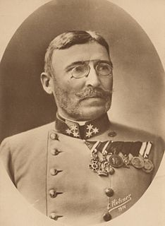 Moritz von Auffenberg Austrian-Hungarian General and Minister of War