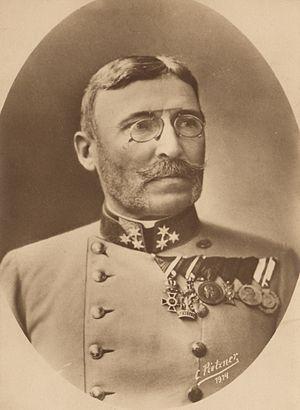 Moritz von Auffenberg - Image: General Moritz von Auffenberg