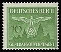 Generalgouvernement 1943 D27 Dienstmarke.jpg