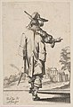 Gentleman Seen from the Back Pointing towards a Chateau MET DP818062.jpg
