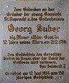 Georg Huber Gedenktafel, Gründer der ev. Gemeinde Sankt Ruprecht, Villach.jpg