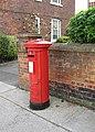 George VI pillar box, Castle Street - geograph.org.uk - 1010717.jpg