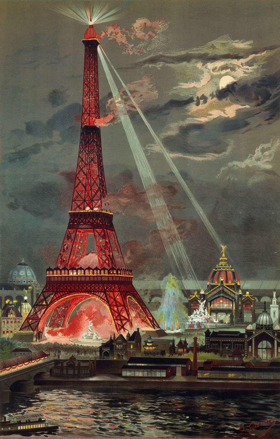 Georges Garen embrasement tour Eiffel