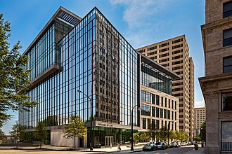 Georgia State University College of Law - The new Georgia State University College of Law building located at 85 Park Place in downtown Atlanta.