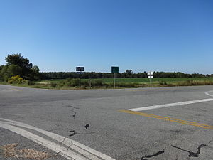 Georgia State Route 233 - Southern terminus of SR 233 with SR90 in Ben Hill County.