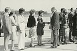 Gerald Ford deplaning at Patrick Henry Airport before third debate16.jpg