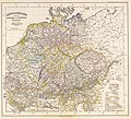 Germany under the Saxon and Salian dynasties until the rise of the Hohenstaufen dynasty (919–1137) - Spruner, 1854.jpg