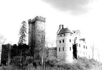 Gerolstein - Kasselburg ruins at Pelm (near Gerolstein)
