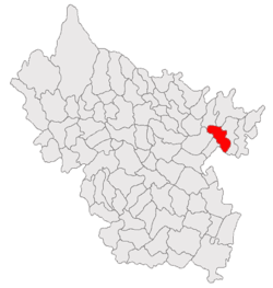 Location of Ghergheasa