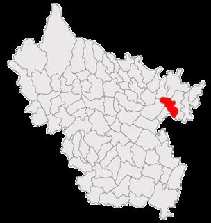 Ghergheasa Commune in Buzău County, Romania