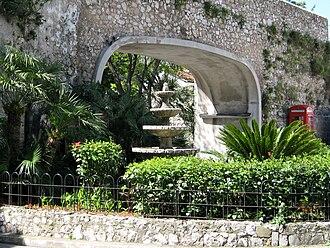 Flat Bastion - Image: Gibraltar Referendum Gates (Southport Gates) 01