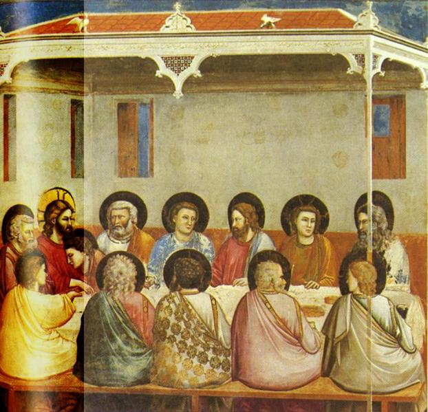 File:Giotto - Scrovegni - -29- - Last Supper.xcf