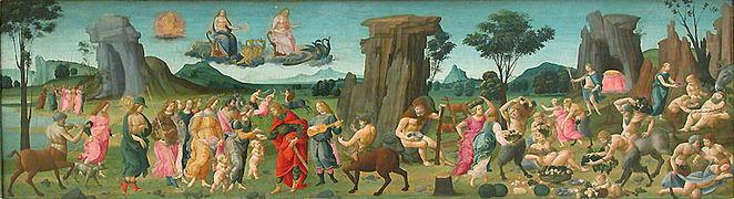 Giovanni - Noces de Thétis et Pelée, Louvre RF 1346