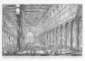 Giovanni Battista Piranesi, St. Paolo fuori le Mura Interior.png