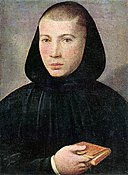 Giovanni Francesco Caroto - Portrait of a Young Benedictine - WGA04281.jpg