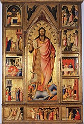 Retable de saint Jean baptiste