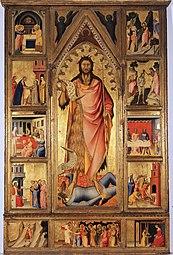 Giovanni del Biondo: Altarpiece of the Baptist