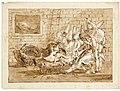 Giovanni domenico tiepolo the birth of punchinellos father.jpg