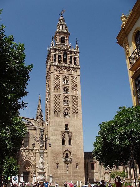 مسجد وكلمة و صورة 450px-Giralda_de_Sevilla_5