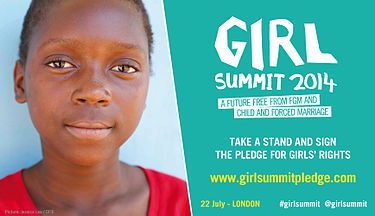 Poster against child and forced marriage Girl Summit - 22nd July in London (14498368279).jpg