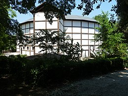 The Silvano Globe Theatre Is Situated In Villa Borghese