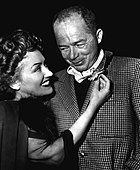 Gloria Swanson & Billy Wilder - ca. 1950.JPG