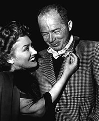 Gloria Swanson i Billy Wilder (ok. 1950)