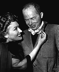 Gloria Swanson och Billy Wilder ca 1950.