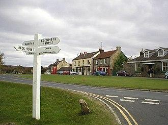 Goathland - Image: Goathland Village geograph.org.uk 102167