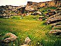 Gobustan Rock Art Cultural Landscape, semi-arid landscape.jpg
