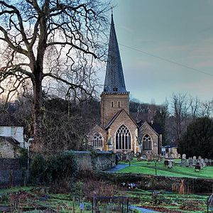 Godalming - Image: Godalming Church
