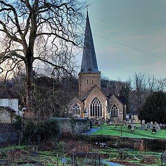 Godalming - Image: Godalming Church