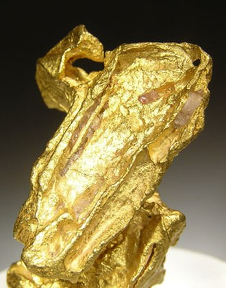 Castambul - Gold specimen from the old Victoria gold mine.