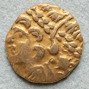 Ambiani - Gold stater of the Ambiani, Cabinet des Médailles